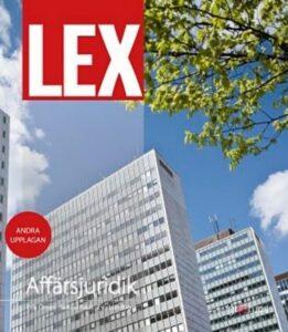 LEX Affärsjuridik för gymnasiet