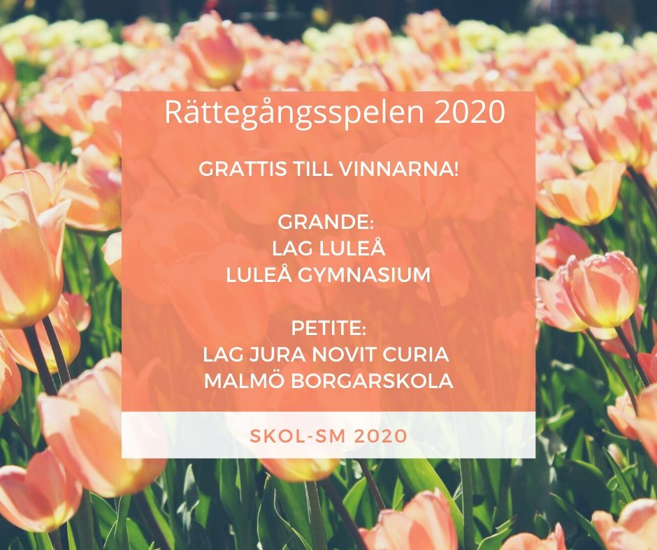 Vinnare av Skol-SM 2020